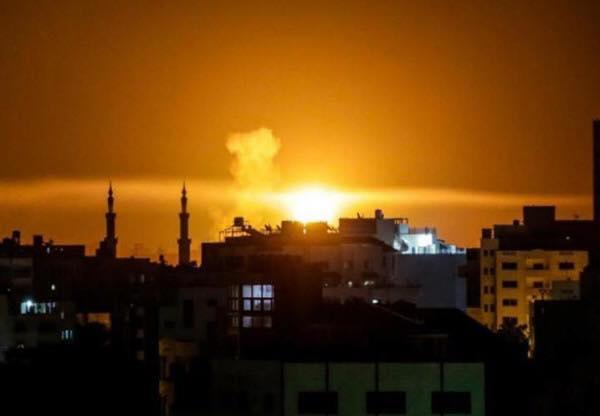 طائرات الاحتلال تقصف عدة أهداف في قطاع غزة والمقاومة ترد