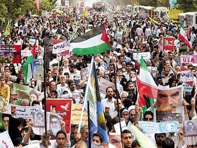 طهران تدعو الشعوب الإسلامية وأحرار العالم إلى المشاركة الفاعلة في يوم القدس العالمي