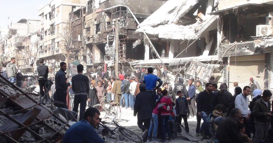 بعد كارثة اليرموك ..منظمة التحرير والقوى الفلسطينية على المَحَكّ