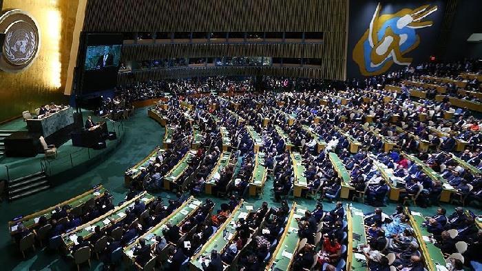 الجمعية العامة تصوت لصالح مشروع قرار توفير الحماية للفلسطينيين
