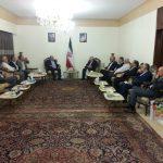 قيادة التحالف الفلسطيني في وداع سفير الجمهورية الإسلامية الإيرانية في لبنان