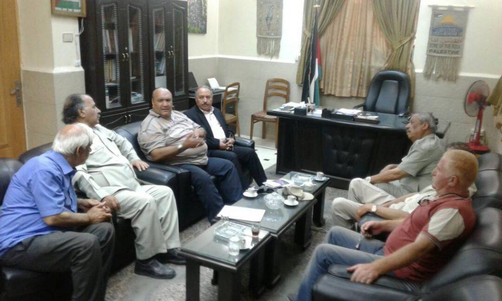 عبد المجيد يستقبل وفدا من لجان المصالحة الوطنية جنوب دمشق
