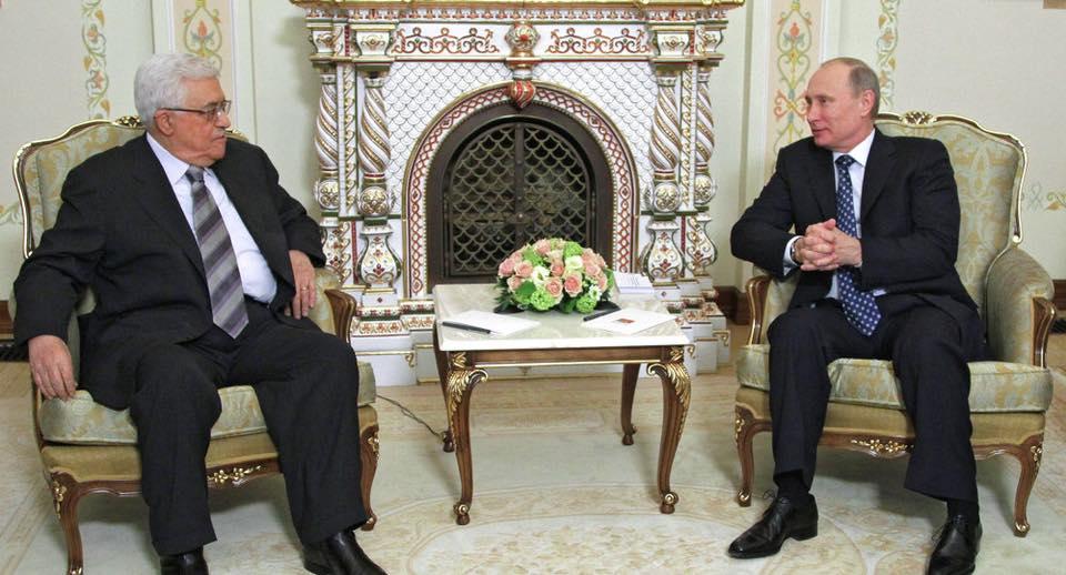 """بوتين لعباس: الوضع في المنطقة """"صعب""""""""!عباس: اسرائيل خلقت أزمة في الخان الأحمر ..ولَم يتطرق للعدوان على غزة ومسيرات العودة."""