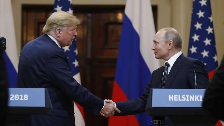 أبرز 10 نقاط في المؤتمر الصحفي المشترك بين بوتين وترامب بقمة هلسنكي