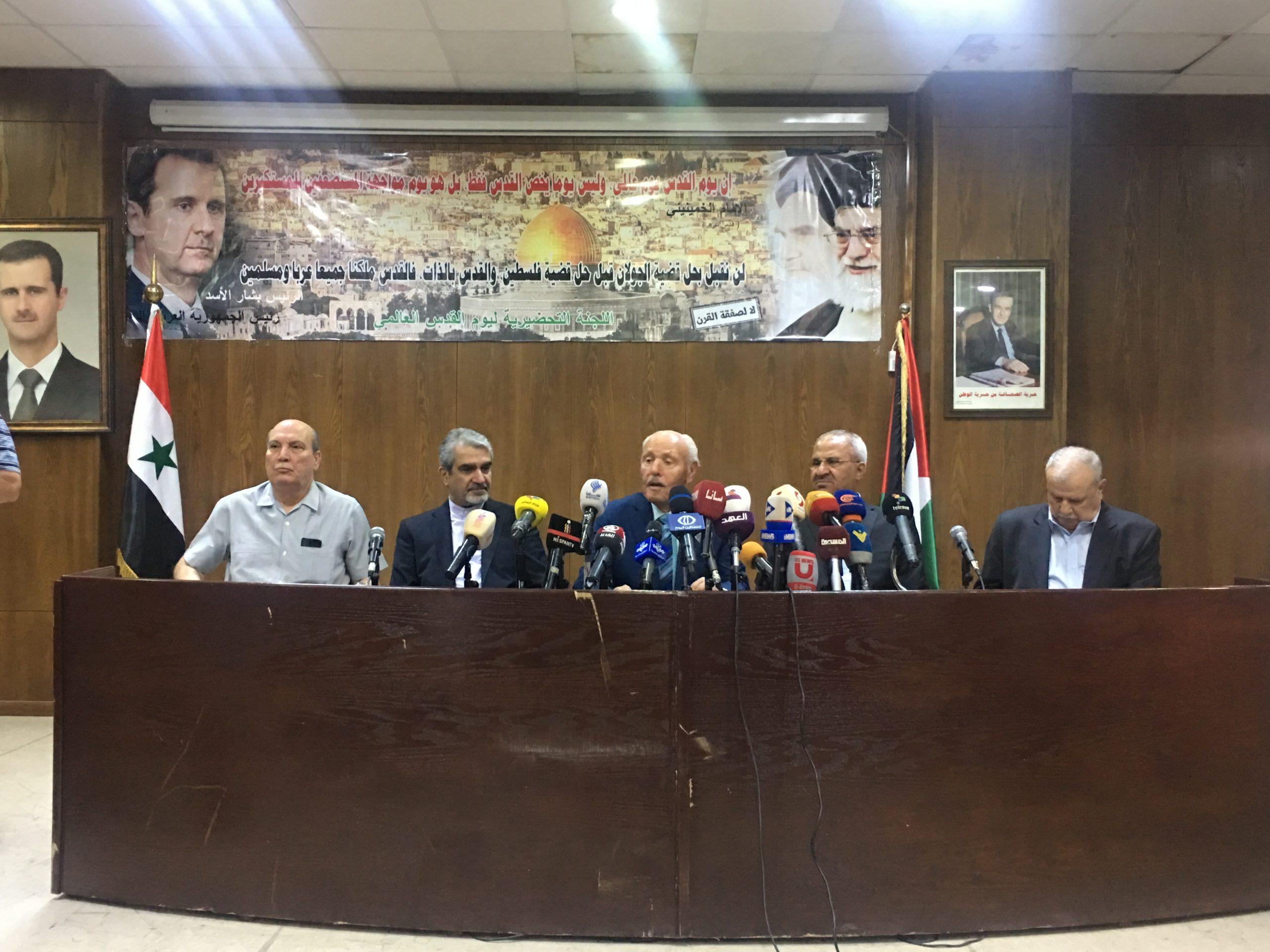تكريس ثقافة المقاومة في مواجهة الاحتلال ندوة على مدرج البعث بمناسبة يوم القدس العالمي