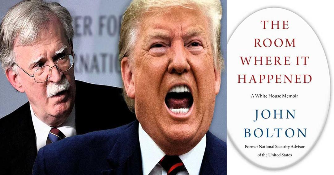 كتاب جون بولتون: مؤشر على ازمة عميقة..  The Room Where It Happened:A White House Memoir