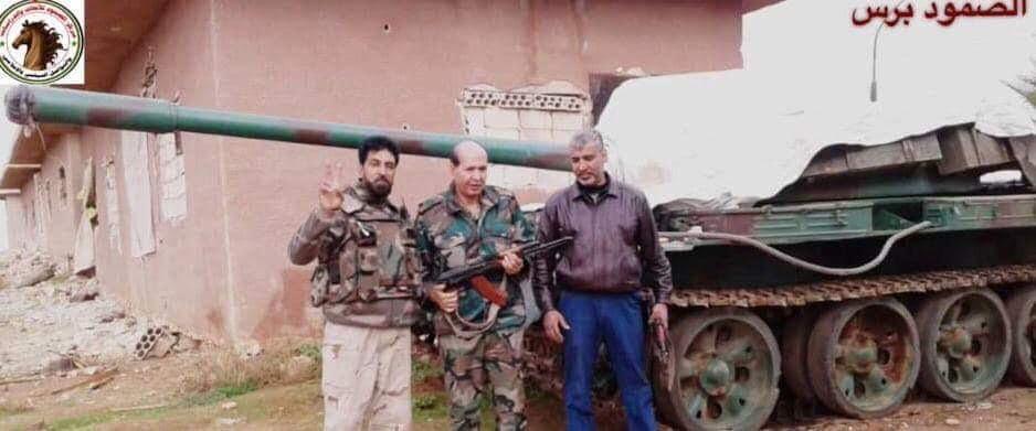 معسكر جبهة النضال الشعبي الفلسطيني في درعا