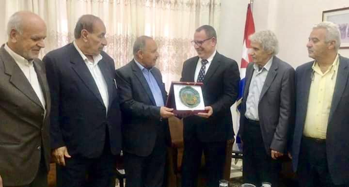 جبهة النضال الشعبي الفلسطيني تهنئ جمهورية كوبا بالعيد الوطني