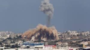 لحظة بلحظة.. تطورات اليوم الخامس للعدوان على غزة..119شهيدًا و830 مصابا