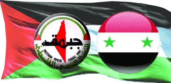 جبهة النضال الشعبي الفلسطيني تهنئ الرئيس الأسد بالذكرى 76 لتأسيس الجيش العربي السوري