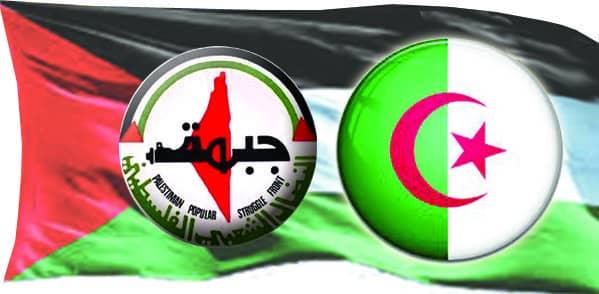 جبهة النضال الشعبي الفلسطيني تقدر موقف الجزائر عاليا في دعم القضية الفلسطينية