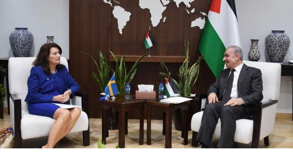 السويد: لن نكون قادرين على دعم الفلسطينيين للفساد الكبير بالسلطة